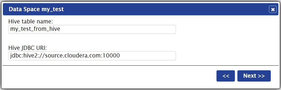 Using Web Interface - Indexima | Documentation v 1 6