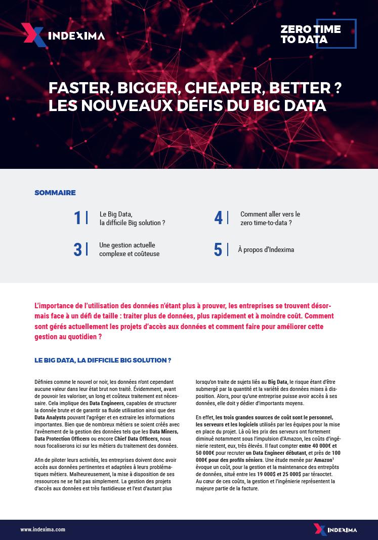 défis du Big Data